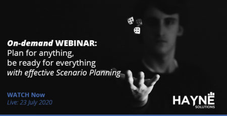 WEBINAR: Plan for anything, be ready for everything with effective Scenario Planning